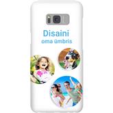 Disainitav Galaxy S8+ läikiv ümbris / Snap