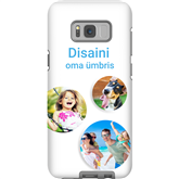 Personalized Galaxy S8+ glossy case / Tough