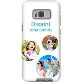 Disainitav Galaxy S8+ läikiv ümbris / Tough