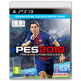 PS3 mäng Pro Evolution Soccer 2018