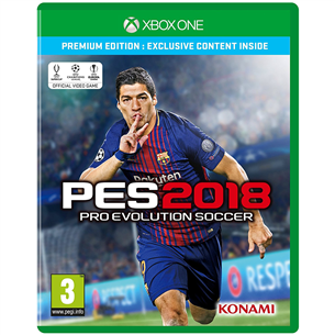 Xbox One mäng Pro Evolution Soccer 2018
