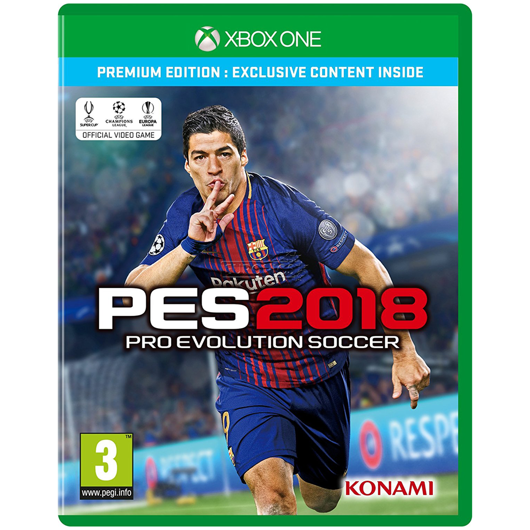 Xbox 1 Games 2018 : Xbox one game pro evolution soccer