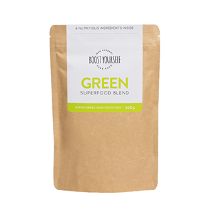 Green supertoidusegu smuutile Boost YourSelf