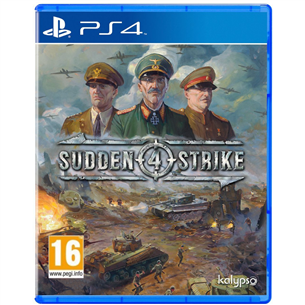 PS4 mäng Sudden Strike 4