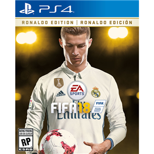 PS4 mäng FIFA 18 Ronaldo Edition