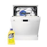 Dishwasher Electrolux  (13 place settings) + dishwashing gel Sanitec