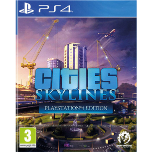 PS4 mäng Cities: Skylines