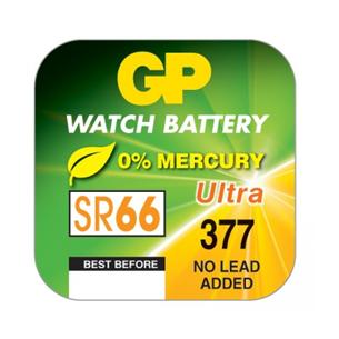 Watch battery GP SR66 GP377F