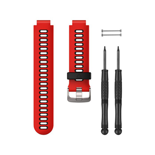 Replacement bands for Garmin Forerunner 735XT Lava Red / Black