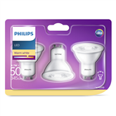 LED pirn Philips (GU10, 50W, 345 lm) 3tk