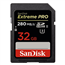 SDHC mälukaart SanDisk Extreme PRO (32 GB)