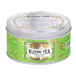 Roheline tee ingveri ja sidruniga Kusmi Tea