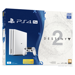 Mängukonsool Sony PlayStation 4 Pro + Destiny 2