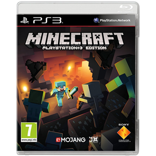 PS3 mäng Minecraft