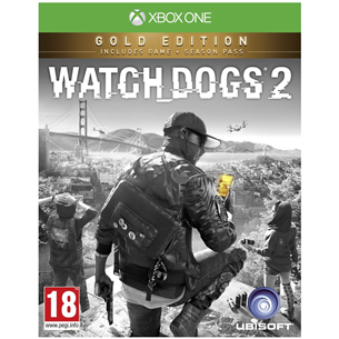 Xbox One mäng Watch Dogs 2 Gold Edition