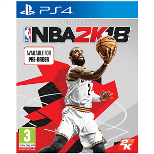 PS4 mäng NBA 2K18