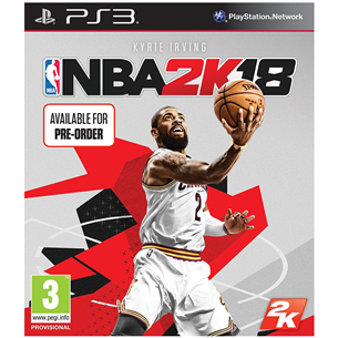 PS3 mäng NBA 2K18