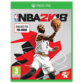 Xbox One game NBA 2K18