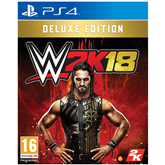 PS4 mäng WWE 2K18 Deluxe Edition