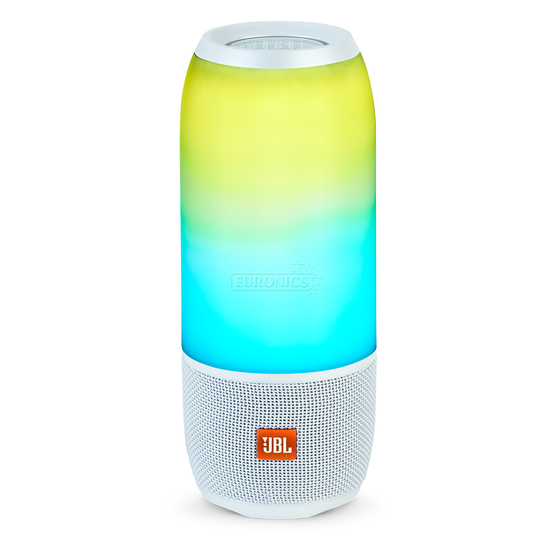 Portable wireless speaker jbl pulse 3 jblpulse3whteu for Housse jbl pulse 3
