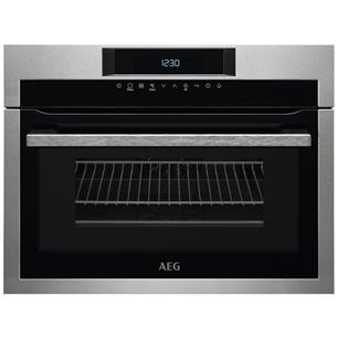 Интегрируемая духовка с микроволновой печью, AEG / объём: 43 л
