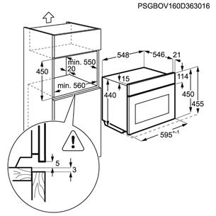 Integreeritav kompakt mikro-kombiahi AEG