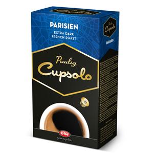Kohvikapslid Cupsolo Parisien, Paulig