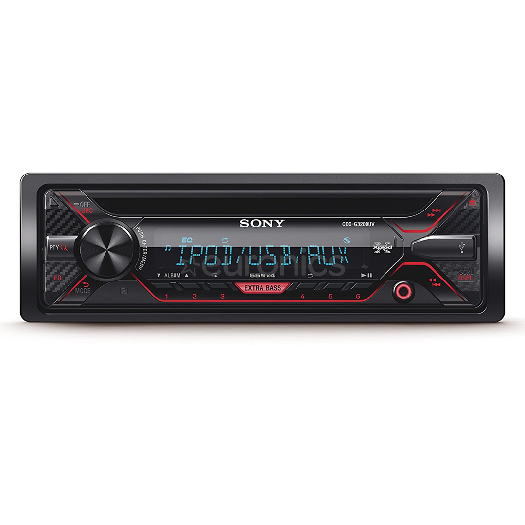 Car Stereo Sony, CDXG3200UV.EUR