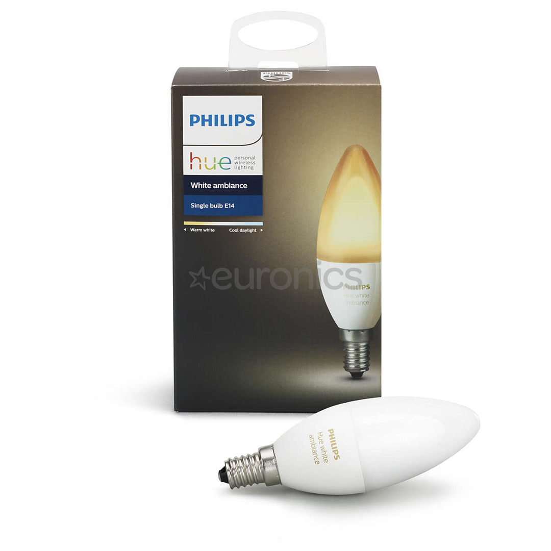 hue lamp philips white ambience 929001301401. Black Bedroom Furniture Sets. Home Design Ideas