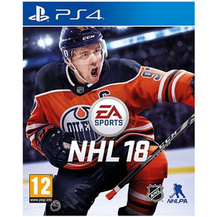 PS4 mäng NHL 18