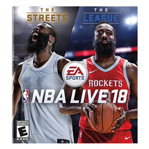 Xbox One mäng NBA LIVE 18