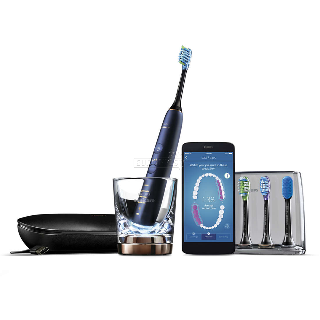 f91a5291372 Electric toothbrush Philips Sonicare DiamondClean Smart with app, HX9954/57