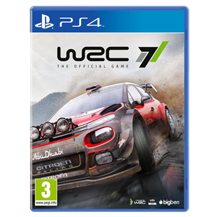 Игра для PlayStation 4, WRC 7