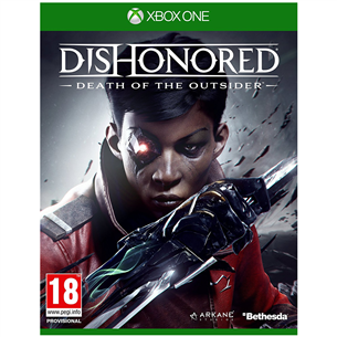 Xbox One mäng Dishonored: Death of the Outsider