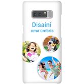 Чехол с заказным дизайном для Galaxy Note 8 / Snap (глянцевый)