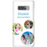 Чехол с заказным дизайном для Galaxy Note 8 / Snap (матовый)