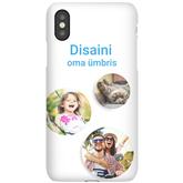 Чехол с заказным дизайном для iPhone X / Snap (глянцевый)