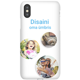 Чехол с заказным дизайном для iPhone X / Snap (матовый)