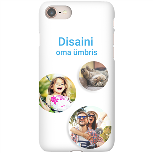 Personalized iPhone 8 glossy case / Snap