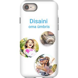 Disainitav iPhone 8 läikiv ümbris / Tough