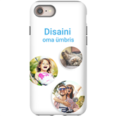 Чехол с заказным дизайном для iPhone 8 / Tough (глянцевый)