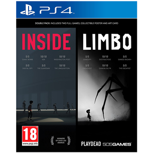 PS4 mäng Inside + Limbo Double Pack
