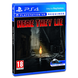 PS4 VR game Here They Lie