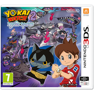 3DS mäng Yo-Kai Watch 2: Psychic Specters