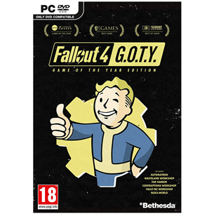 Arvutimäng Fallout 4 Game of the Year Edition