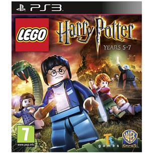 PS3 mäng LEGO Harry Potter: Years 5-7