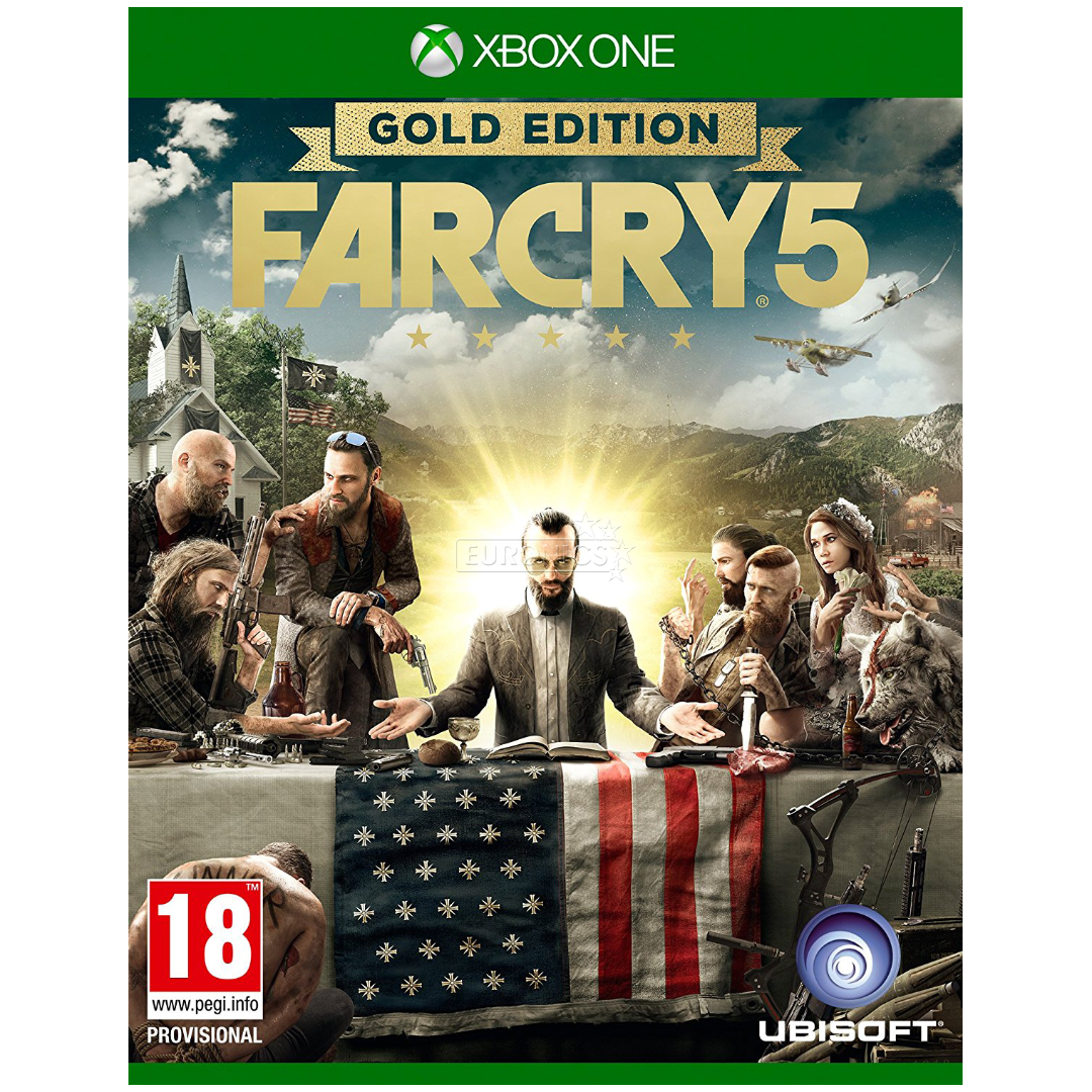 xbox one game far cry 5 gold edition x1farcry5g. Black Bedroom Furniture Sets. Home Design Ideas