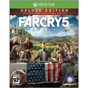 Xbox One mäng Far Cry 5 Deluxe Edition