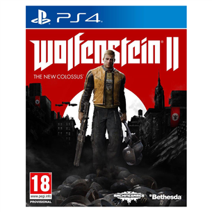 PS4 mäng Wolfenstein II: The New Colossus