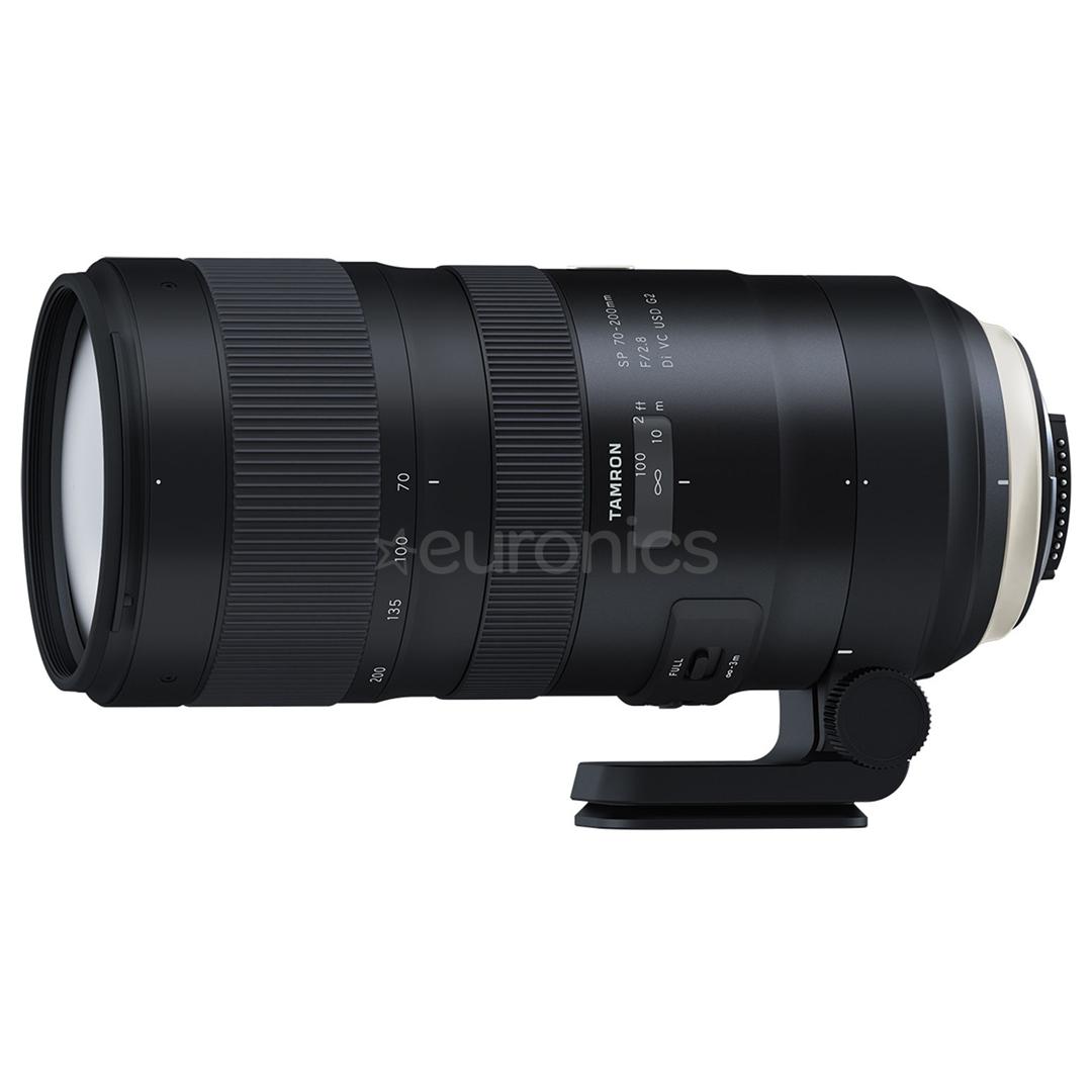 416545844a5 Objektiiv Tamron 70-200 mm Di VC USD G2 Nikonile, AF70-200DIVCNIKON